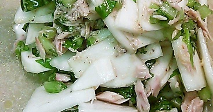 かぶとかぶの葉サラダ by 赤紫芋介 [クックパッド] 簡単おいしいみんなのレシピが253万品