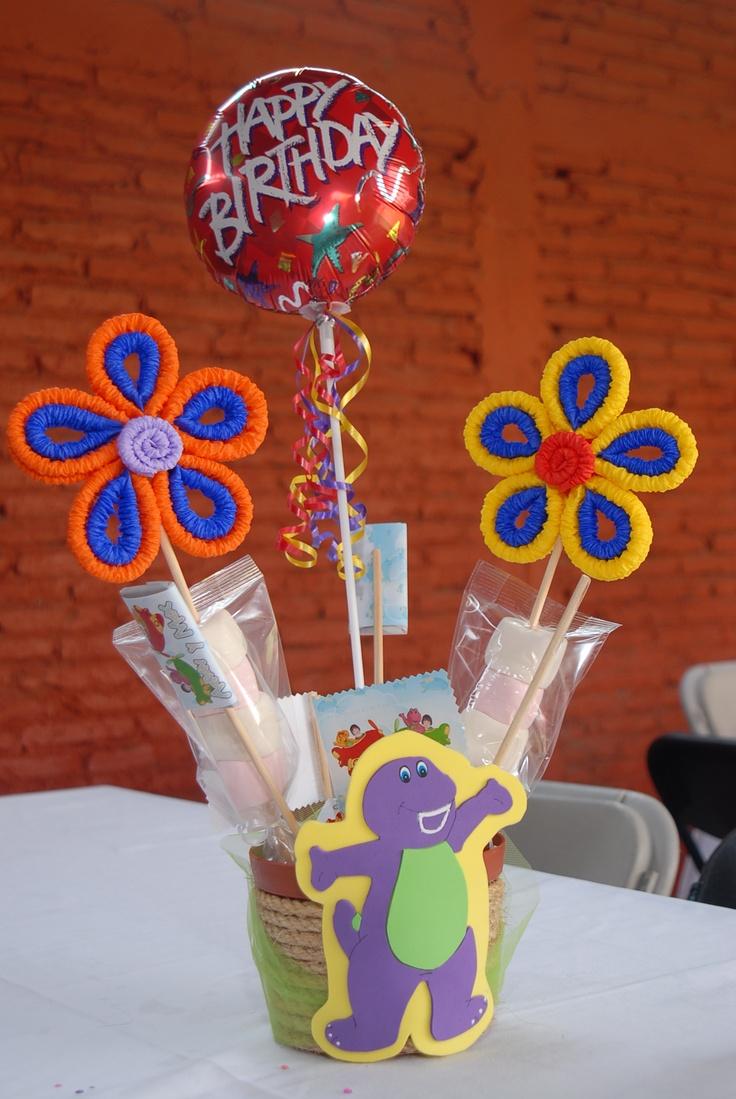 413 best images about centros de mesa on pinterest mesas - Centro de mesa infantil ...