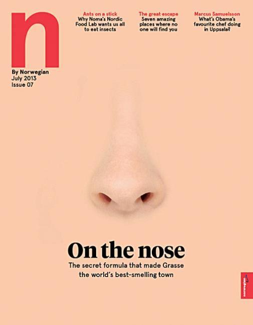 N by Norwegian - nose cover #colourschemes #conceptualdesign #closeupcovers