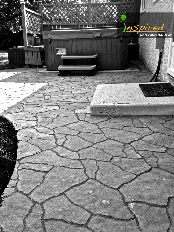 custom tailored flagstone patio