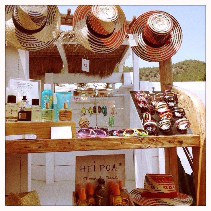 """OCO Ibiza Bracelets in la Boutique at """"El Chiringuito Es Cavallet"""", playa Es Cavallet, Ibiza.  http://www.elchiringuitoibiza.com/"""
