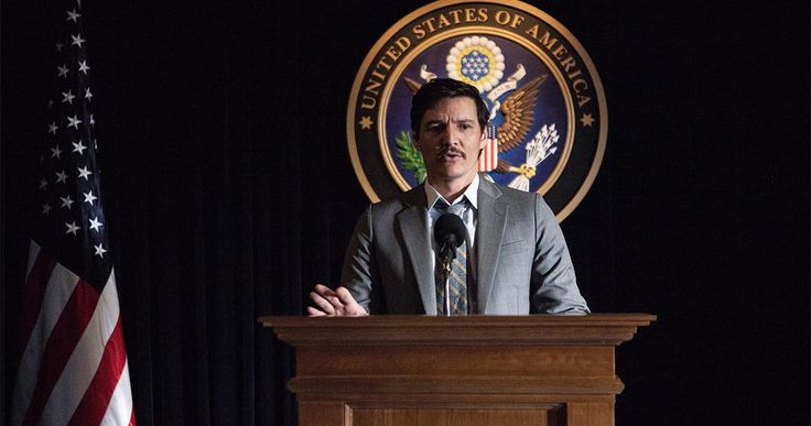 Narcos Season 3 Begins Filming, First Set Photo Arrives -- Get your first look at Pedro Pascal as DEA agent Javier Pena in the first photo from Narcos Season 3, as filming begins. -- http://tvweb.com/narcos-season-3-production-start-photo/