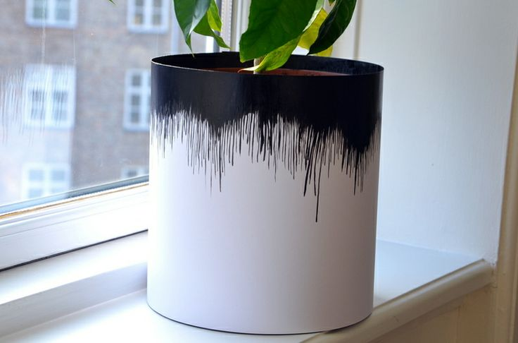 Sine Smed // Frk. Smed : DIY: urtepotteskjuler