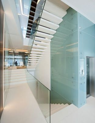 Casas minimalistas y modernas escaleras escaleras - Escaleras modernas interiores ...