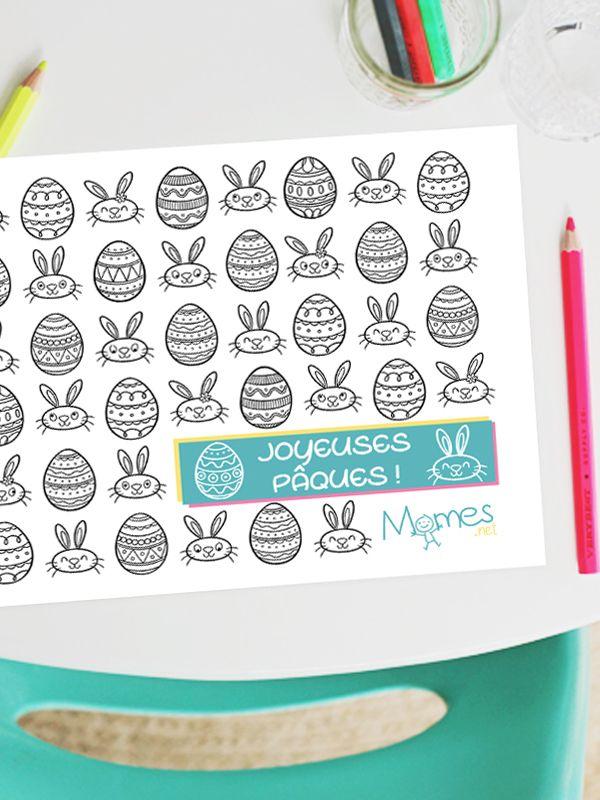 17 meilleures id es propos de coloriage lapin sur for Puzzle a colorier gratuit