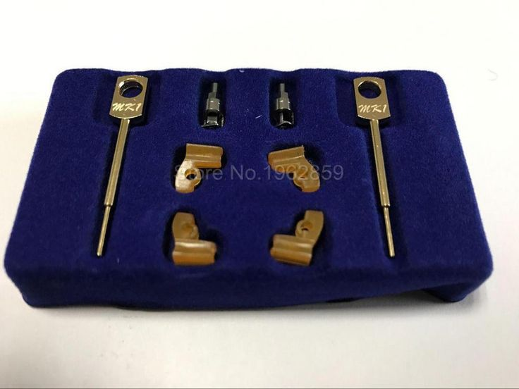 [Visit to Buy] 2 Sets/box Dental Lab Technician Instrument MK1 Attachments Parts for Metal Partials Dental Material Products #Advertisement