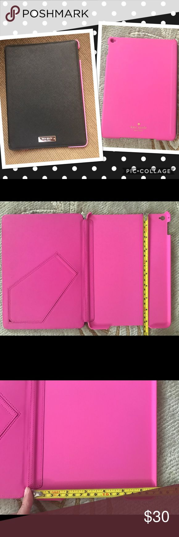 Kate spade iPad case New bought here on Posh. Bought it for my iPad 2 but the case was too small. kate spade Accessories Tablet Cases