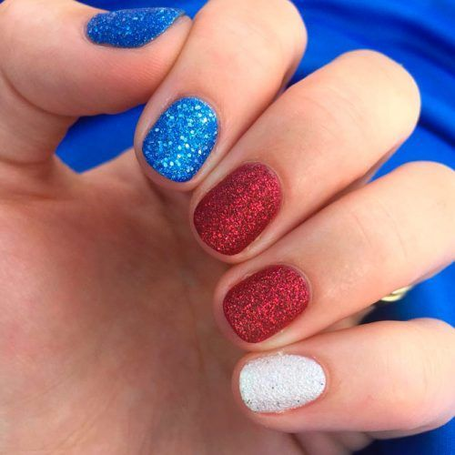 Popular 4th Of July Nails To Feel Like America S Supergirl Nail