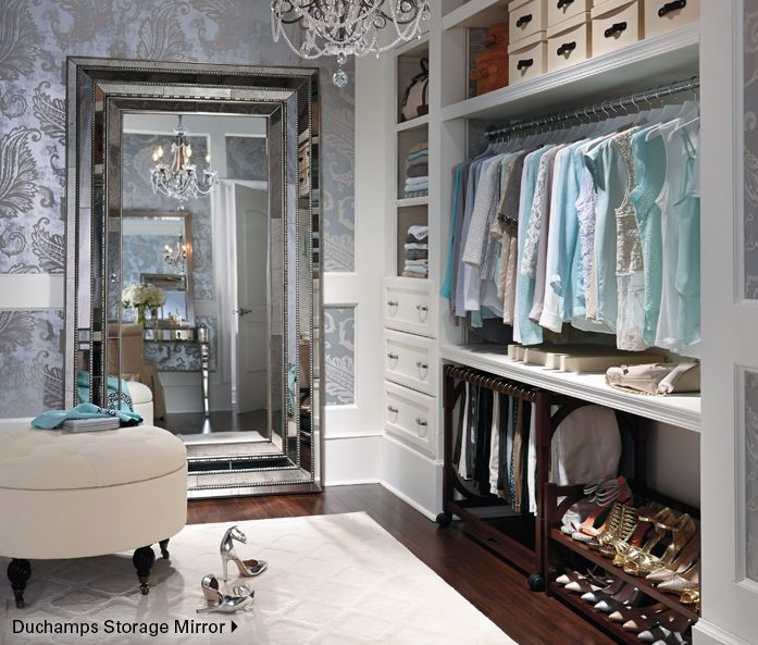 Closet with glam and function