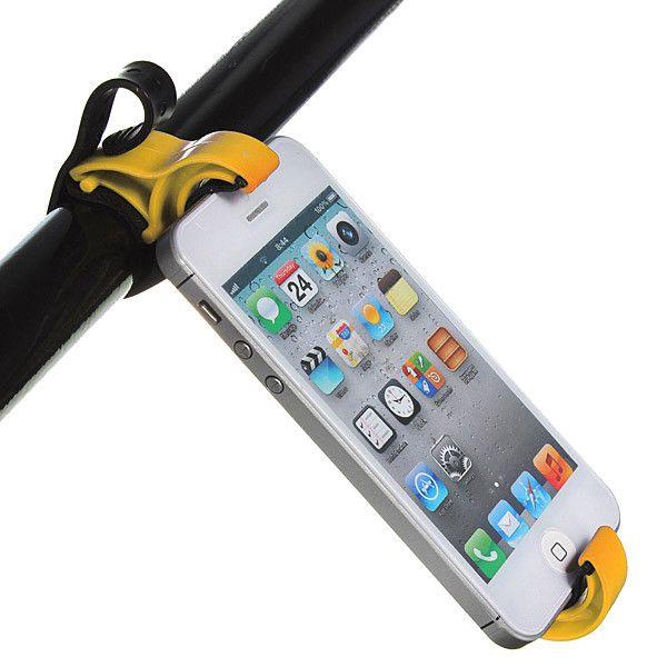 Steering Wheel Cradle Holder Smart Clip Car Bike Mount For iPhone