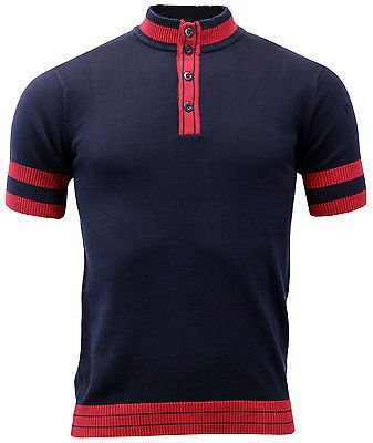 New mod retro 60s 70s #vintage #indie mens slim fit cycling top shirt #geared mc1,  View more on the LINK: http://www.zeppy.io/product/gb/2/370922309417/