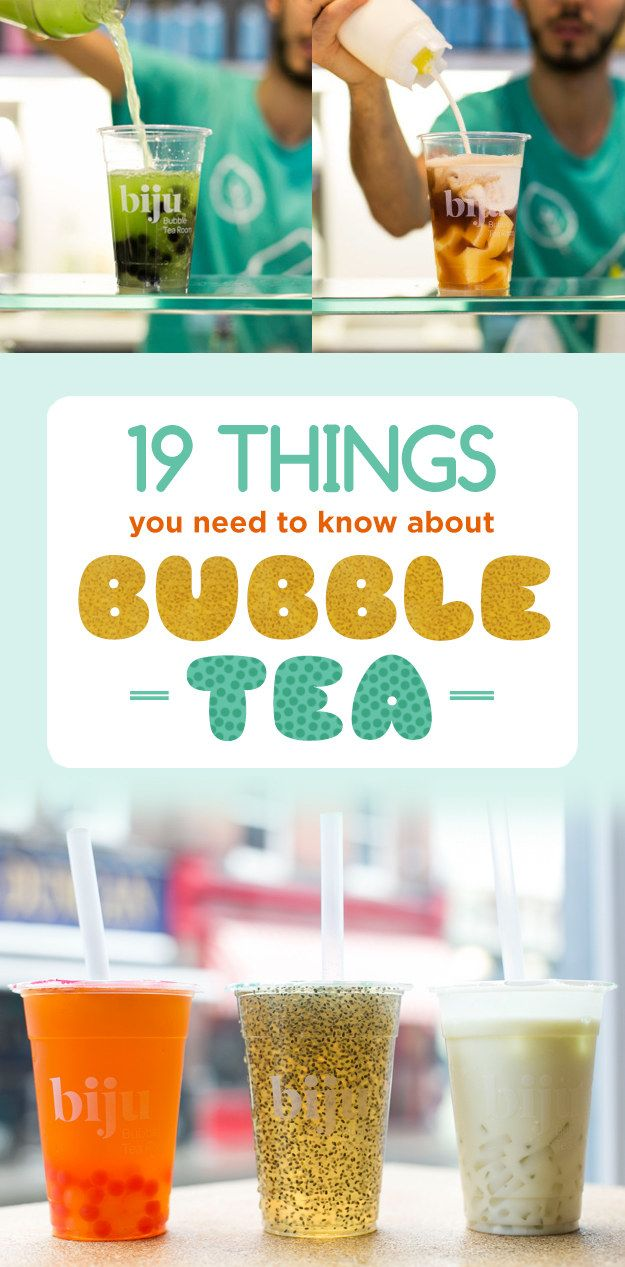 Here's Everything You Need To Know About Bubble Tea