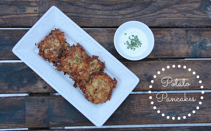 Potato Pancakes | Amazing Side Dishes | Pinterest