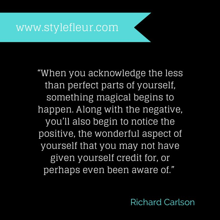 Richard Carlson Quote #STYLEFLEUR