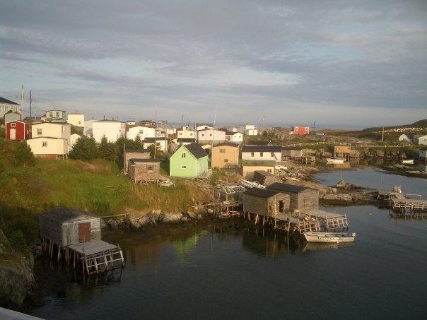 The now resettled community of Grand Bruit