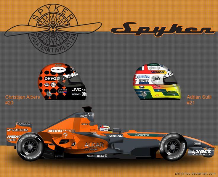 Spyker V8-VII by ShinjiRHCP.deviantart.com on @deviantART