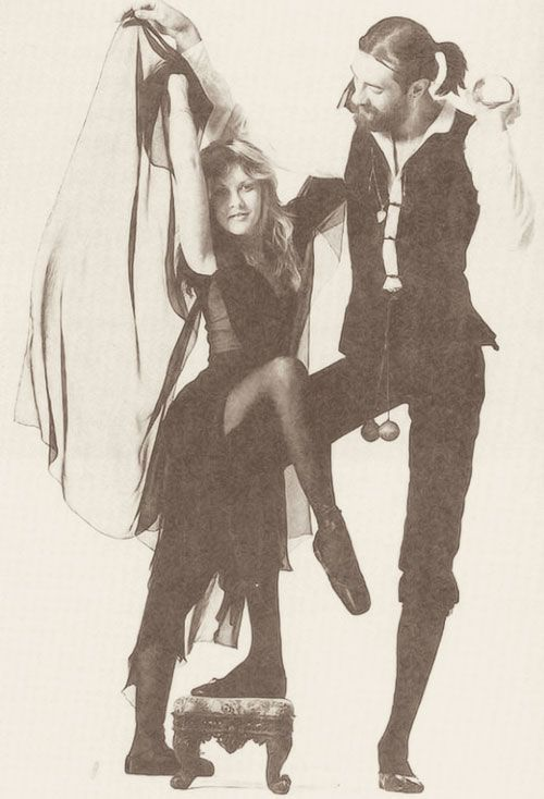 Stevie Nicks <3 Mick Fleetwood // rock (AND ROLL) the vote // TOMS
