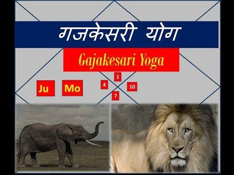 In series of Yoga videos, I am presenting first video on Gajakesari yoga. When Jupiter and Moon forms a conjunction or an aspect relationship in Kendra houses …