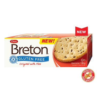 """These are wonderful! """"Enjoy the tender-crisp texture and wholesome taste of the original Breton with our gluten-free cracker made with arrowroot flour, green lentil flour and flax seeds."""""""