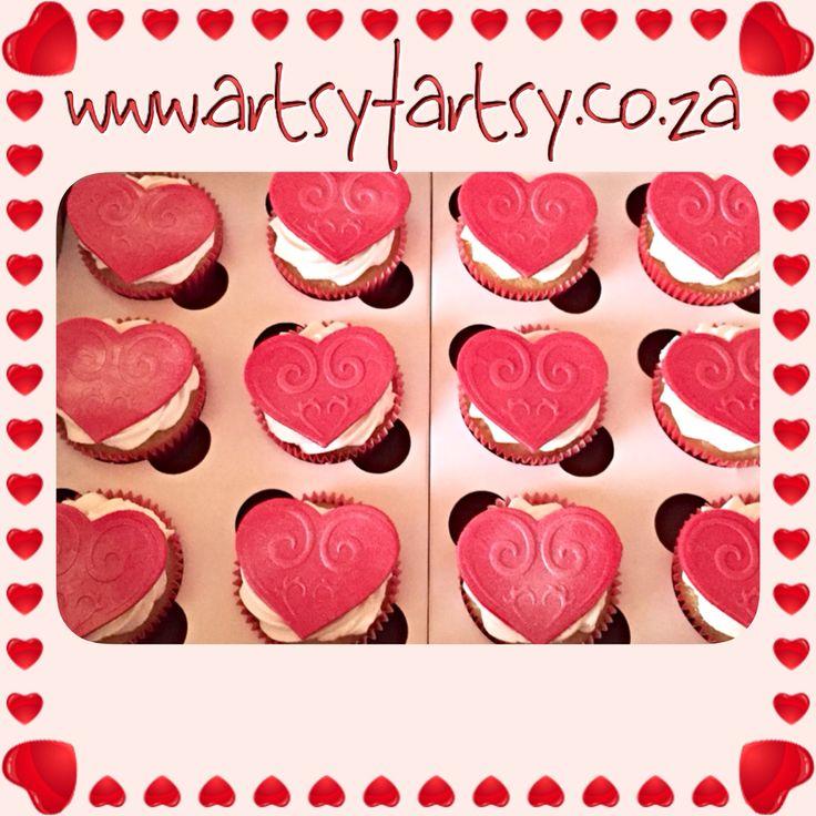 Valentine Cupcakes #valentinecupcakes
