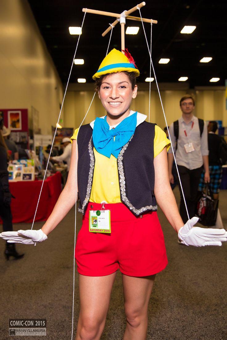Pinocchio #cosplay San Diego Comic Con 2015 | pc: http://facebook.com/MannyLlanuraPhoto #halloweencostumes