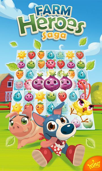 Farm Heroes Saga v2.70.6[Mod]Requirements: 2.3+Overview: Farm Heroes Saga, from the makers of Candy Crush Soda Saga & Bubble Witch 2 Saga!     Rancid the Racoon is trying to spoil the precious Farm Lands, stealing as many Cropsies as he can along the way. Will you join forces with the...