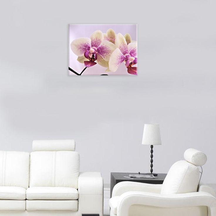 Storczyki to piękne kwiaty. Mogą stanowić dekorację nowoczesnego lub klasycznego wnętrza. A gdyby były na płótnie.  Zobacz nasze obrazy na bit.ly/Rakbis #obraz #storczyk #kwiaty #imieniny #prezent