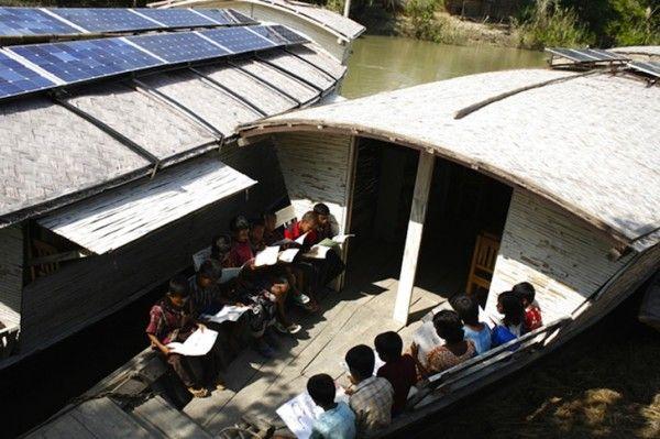 Scuole ad energia solare in Bangladesh... meglio dell'Italia!