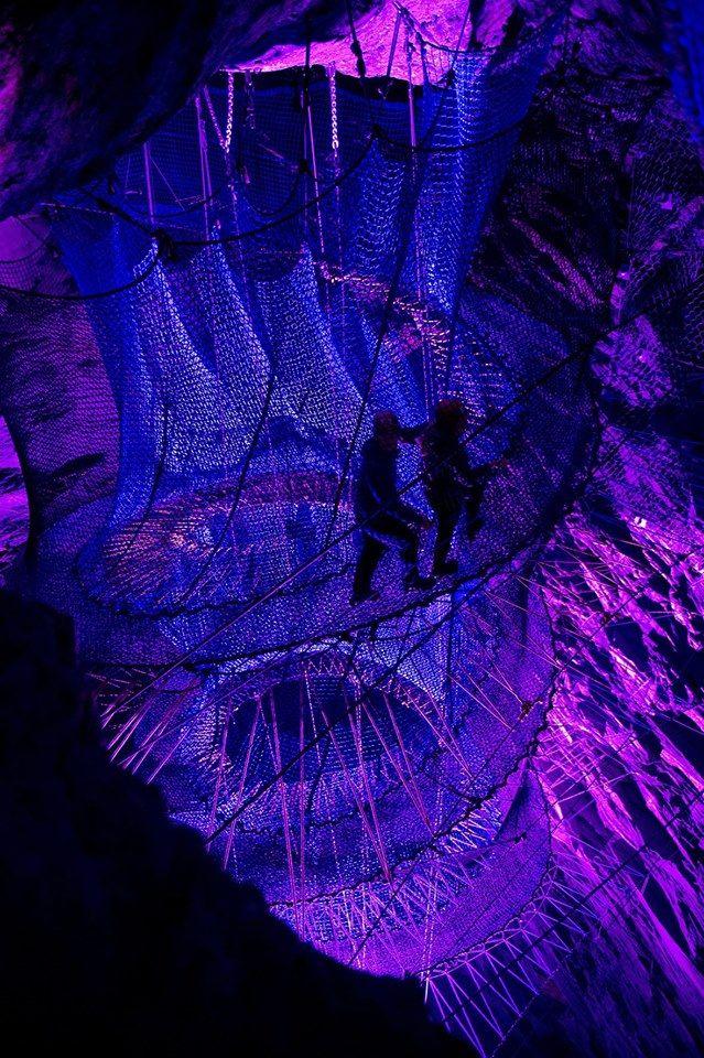 Llechwedd Slate Caverns, Wales