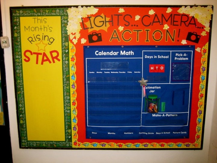Classroom Decor Stars : Best images about hollywood classroom theme on