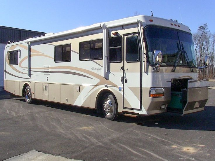2000 monaco windsor 38ft class a diesel pusher motorhome for Mobilia 2000 monaco