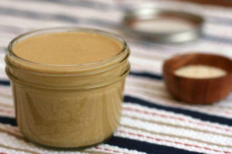 Domácí tahini (sezamová pasta)   Home-Made.Cz