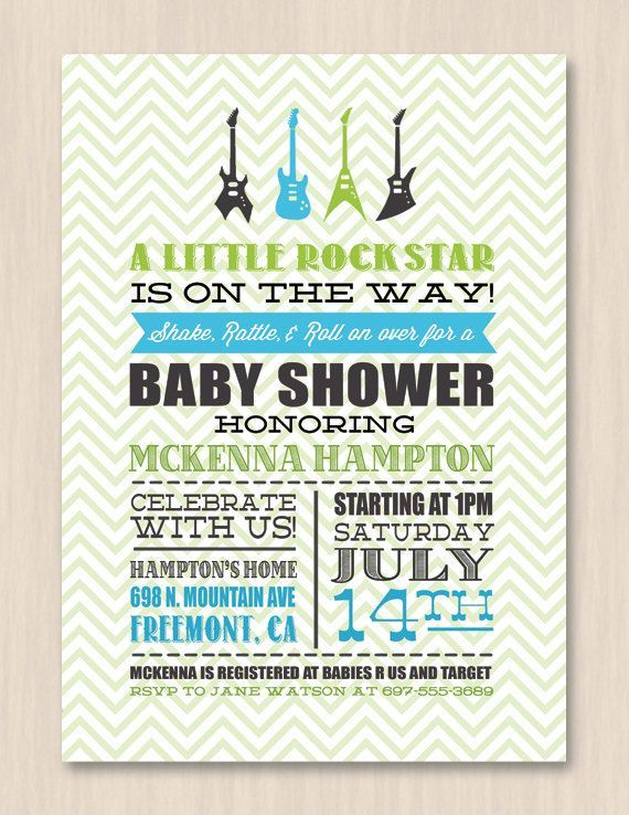 Fab Everyday | Because Everday Life Should be Fabulous | www.fabeveryday.com: Rock n Roll Themed First Birthday Party