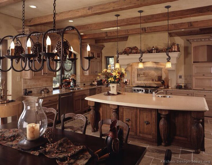 Rustic charm is one way to describe the French Country kitchen decorating  ideas  The French country kitchen decorating ideas are ideal for the kitchen    78 best French country deco  images on Pinterest   Country french  . French Country Kitchen Designs. Home Design Ideas