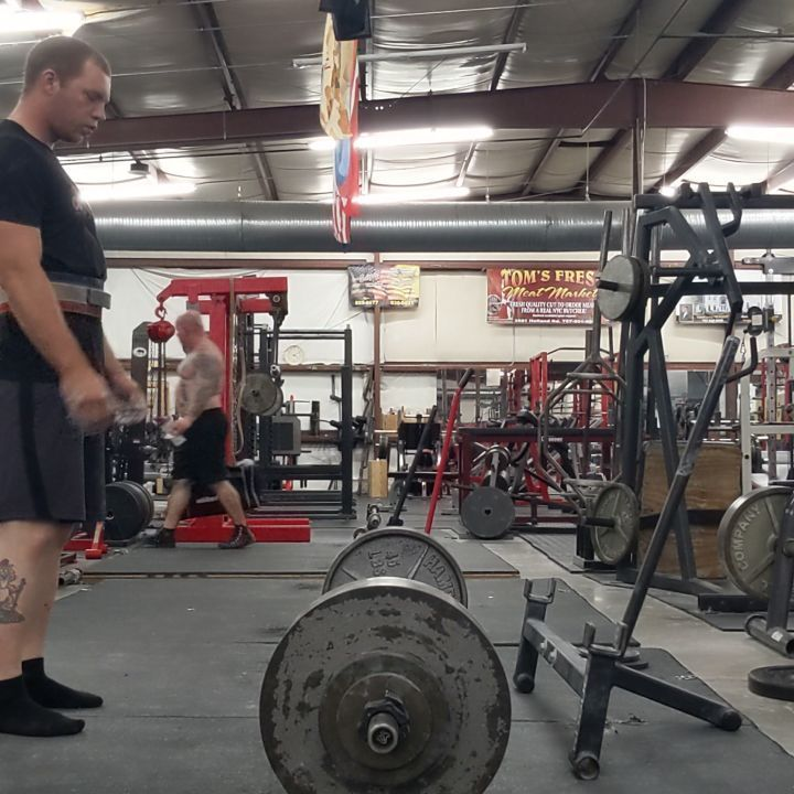 450x2 Heaviest Set If The Night Great Pull Day Powerlifting