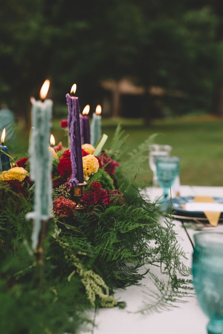 Boho Gypsy Vintage Circus Wedding at Anchor Village, Pennsylvania with circus wedding and boho wedding inspiration, sweetheart table, teal accents and colorful pennants by www.oakwoodphotovideo.com, a Pittsburgh Wedding Photographer