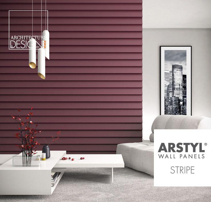 ARSTYL® Wall Panels STRIPE designed by @michaelbihain