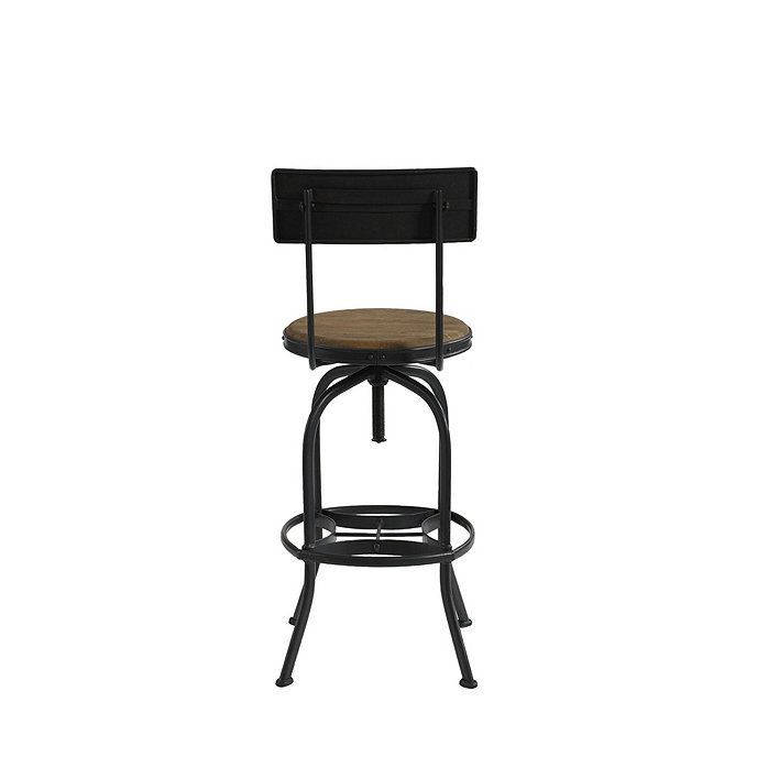 Allen Swivel Bar Stool With Back Bar Stools With Backs Bar Stools Stools With Backs