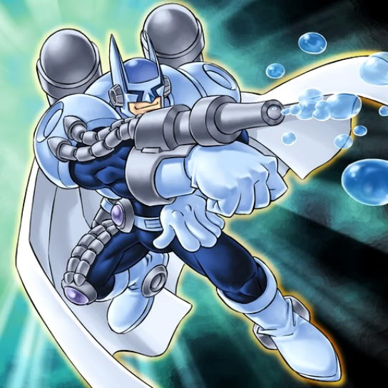 heroe elemental burbujas: Yugioh