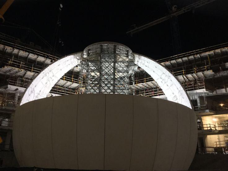 The Insanely Complicated Logistics of Building a Planetarium