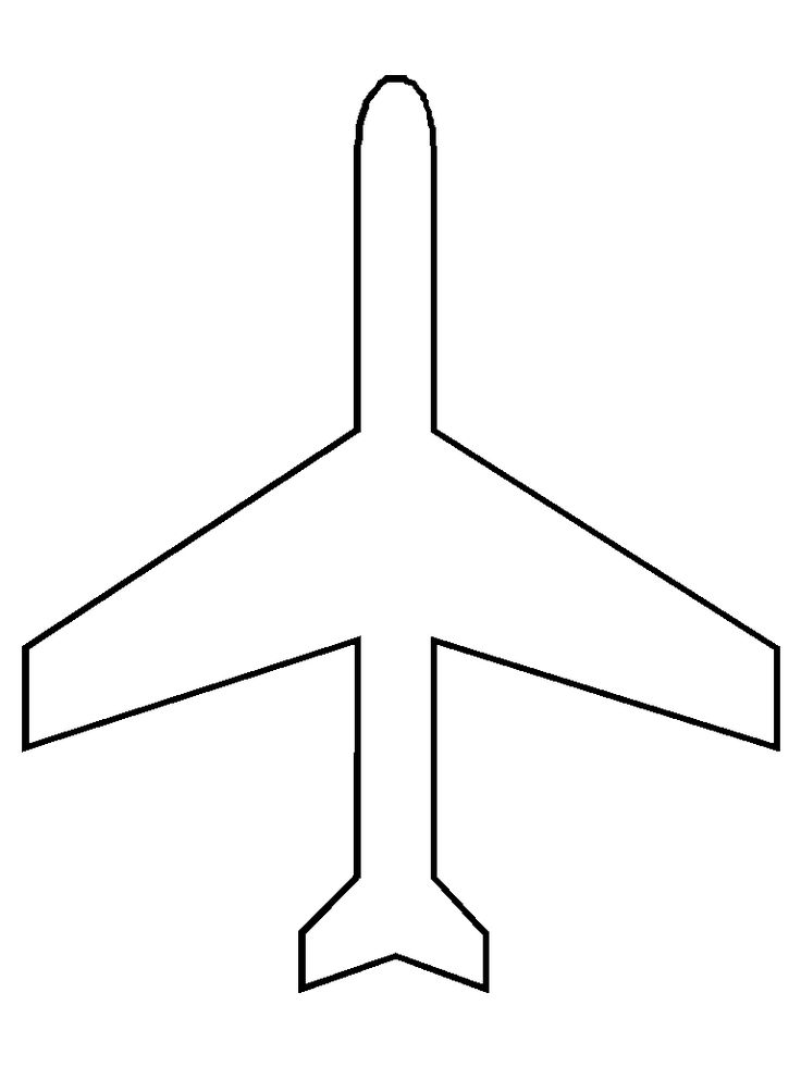 Airplane Pattern Coloring Page