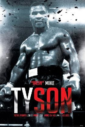 SPT78791 Mike Tyson Boxing Record