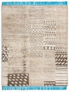 RUG STAR COLLECTION DIMENSIONS: 250CM X 300CM Africa Grey, wool and hemp with silk fringes