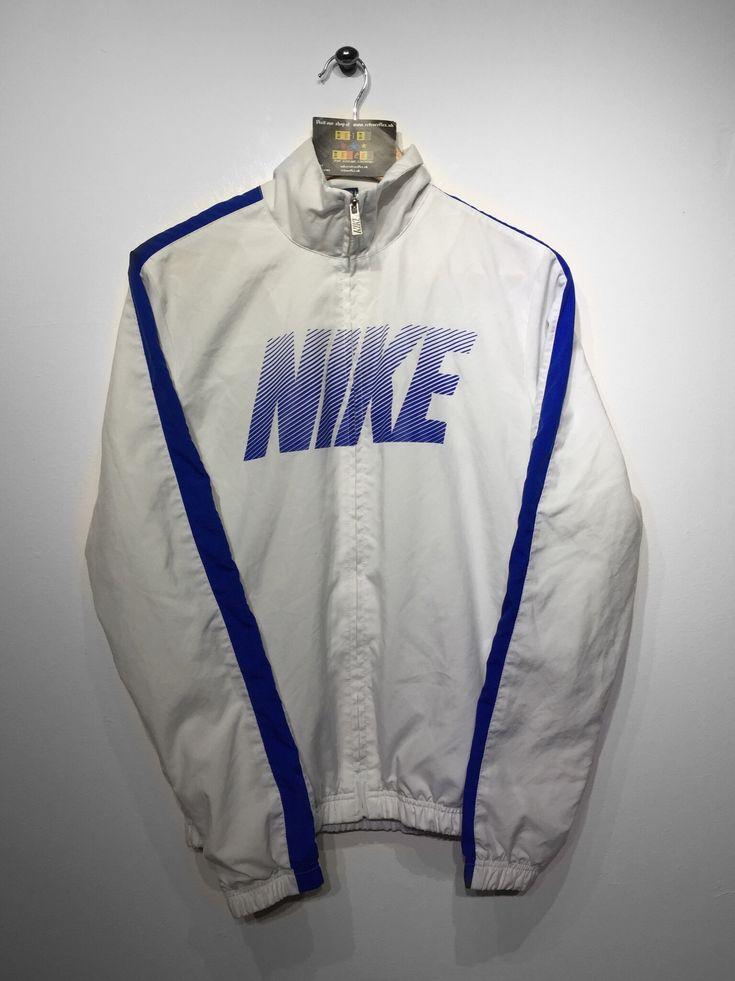 Nike Track Jacket Size Small £30 Website➡️ www.retroreflex.uk #nike #vintage #oldschool #retro #truevintage