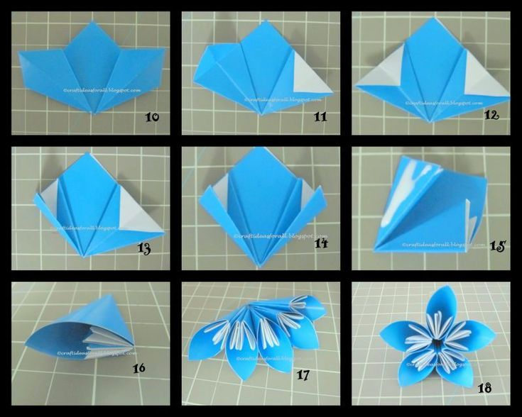 Craft Ideas for all: Kusudama Flowers in a Vase
