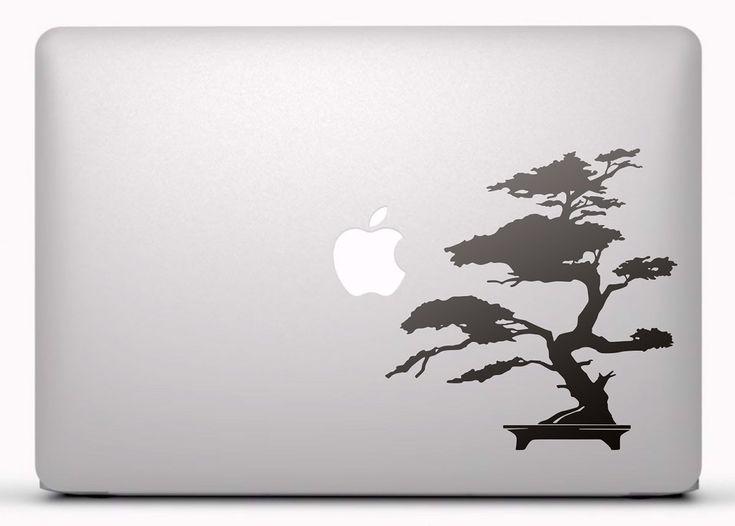 Pegatinas: Bonsái Vinilo, pegatina, adhesivo para portátil, Mac, o Macbook. #vinilosportatil  #vinilosmac #vinilosmacbook