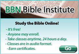 BBN Bible Institute... Study Bible Online, it's FREE, anyone can enroll, take classes anytime, earn certificates. Already started :) and I'm learning so much!