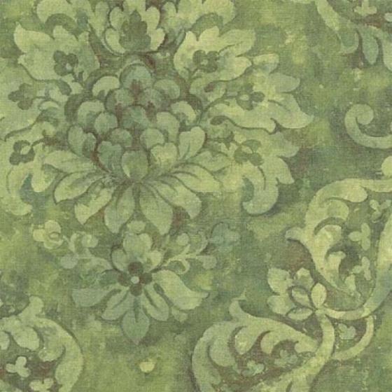 deep green damask wallpaper ar27016