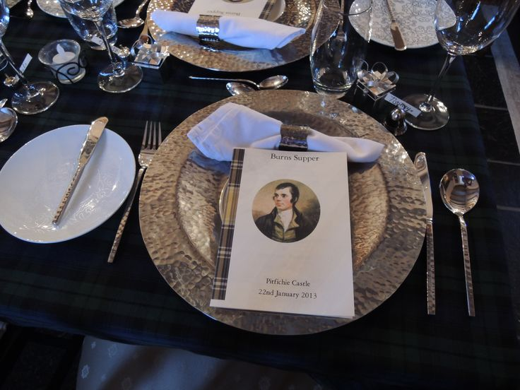 A birthday Burns supper at Pitfichie Castle & 57 best Burns supper images on Pinterest | Burns supper Scottish ...
