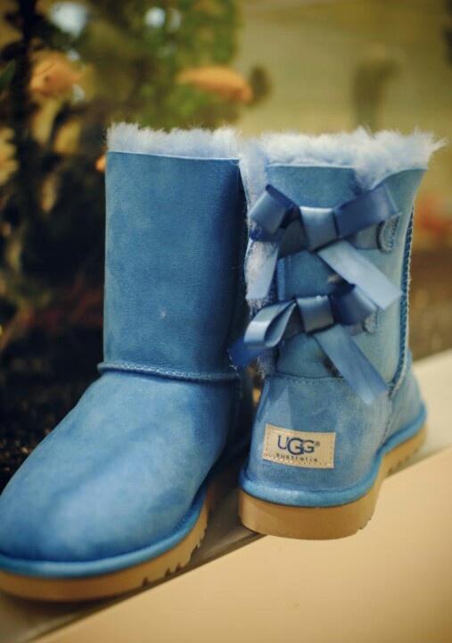 Blue Uggs!